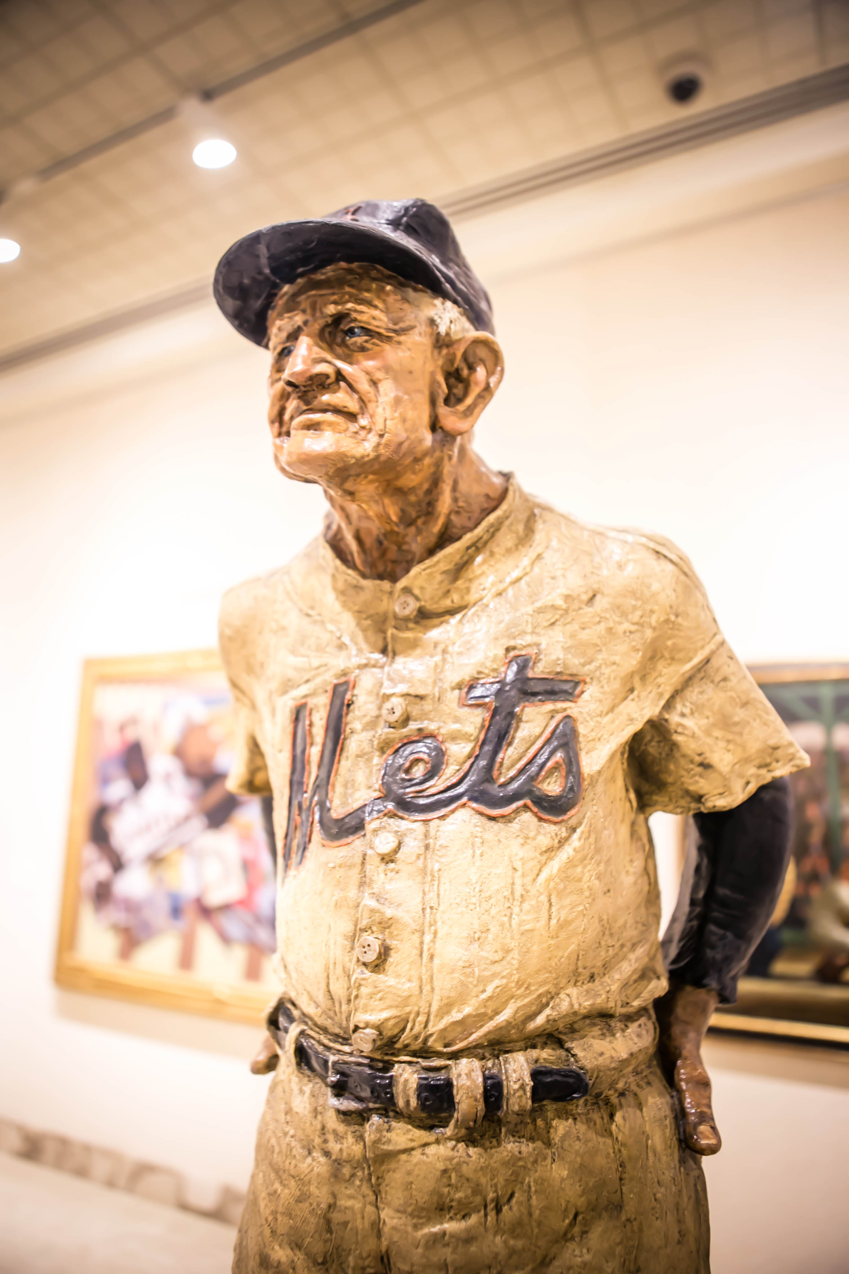 old man in a mets uniform