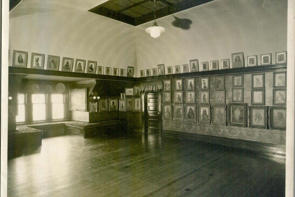 gallery in butler home