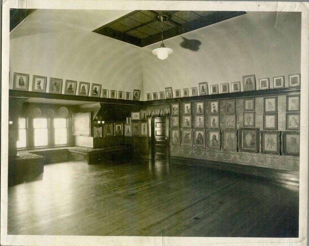 gallery in butler home