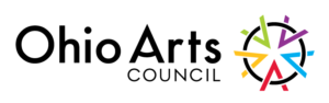 Ohio Arts Council logo linked to OAC website OAC dot Ohio dot gov