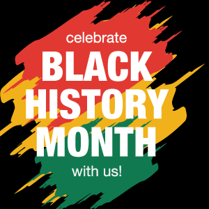 artistic invitation to celebrate black history month